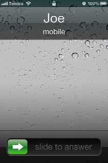 call answer