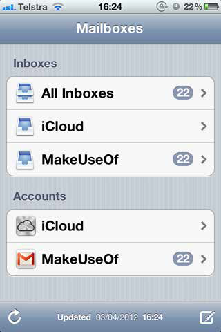 ios mailboxes